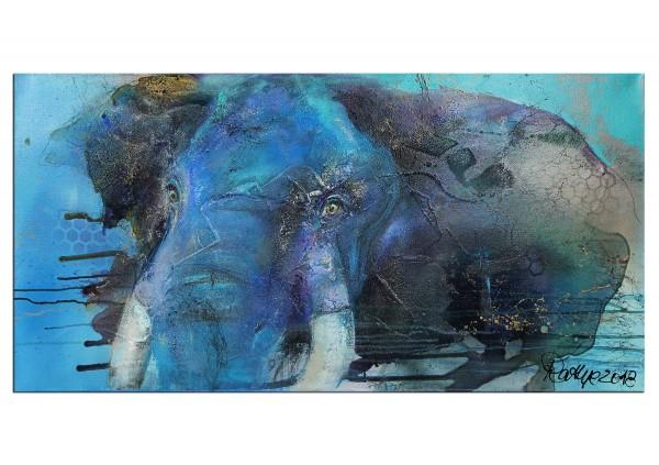 """Moderne Malerei, M. Rathje: """"Bintou"""" (A)"""
