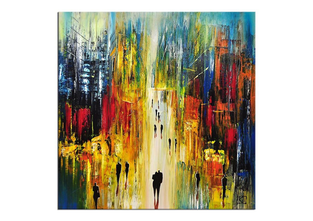 Kunst Gemälde Modern moderne malerei k namazi schwebende stadt e kunst bis 499