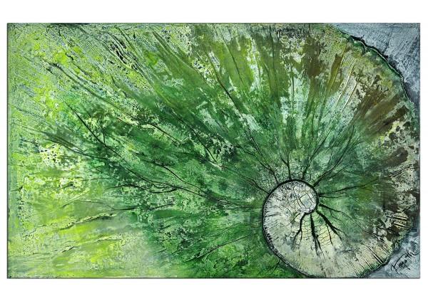 "Acrylbilder abstrakt, A. Freymuth: ""Blattwerk"" (A)"