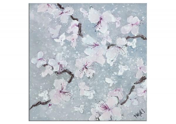 """Acrylbilder, Maya: """"Kleiner Blütentraum"""""""