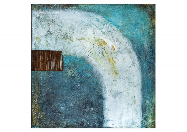 "Acrylbilder abstrakt, M.Rick: ""Bogen"""