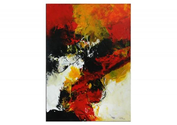"Abstrakte Acrylmalerei, C. Middendorf: ""Rote Erde VI"" (A)"
