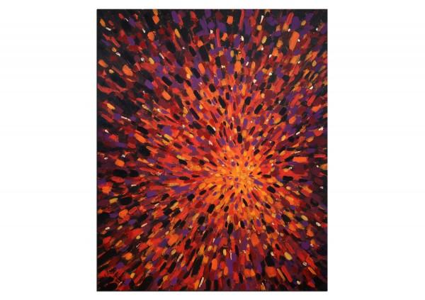 """Acrylgemälde, M.Kühne: """"Supernova II"""""""