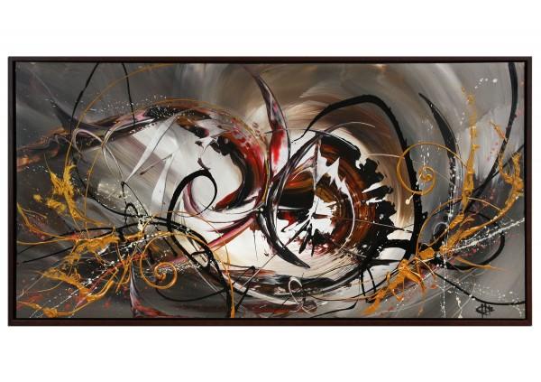 """Acrylgemälde, G. Hung: """"Frontaldynamik III"""""""