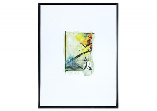 """Abstrakte Grafik, Andy Larrett: """"Thema - II"""""""