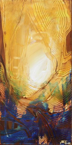"J. Fernandez: ""Wogende See"", Originalgemälde (Unikat), Acrylbilder"