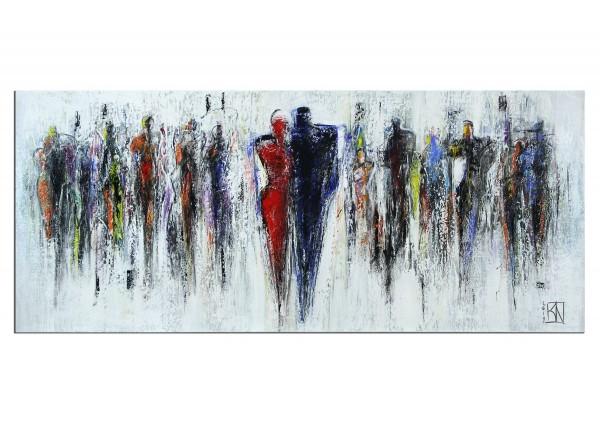 "Modernes Gemälde, K. Namazi: ""Im gegenseitigen Fokus I"" (A)"