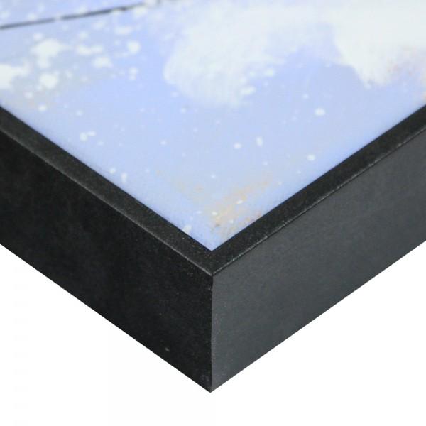 Premium Schattenfugenrahmen anthrazit, SR-36615-a, Bilderrahmen Holz, modern