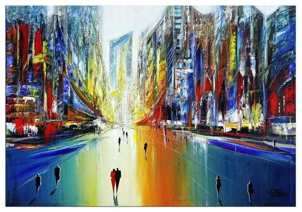 """Modernes Gemälde, K. Namazi: """"Dynamische Realität I"""" (ri)"""