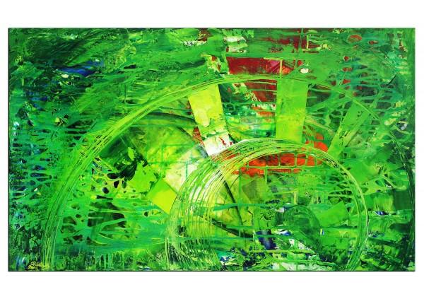 """Gemälde abstrakt, R.König: """"In den Tiefen des Geistes I"""" (ri)"""
