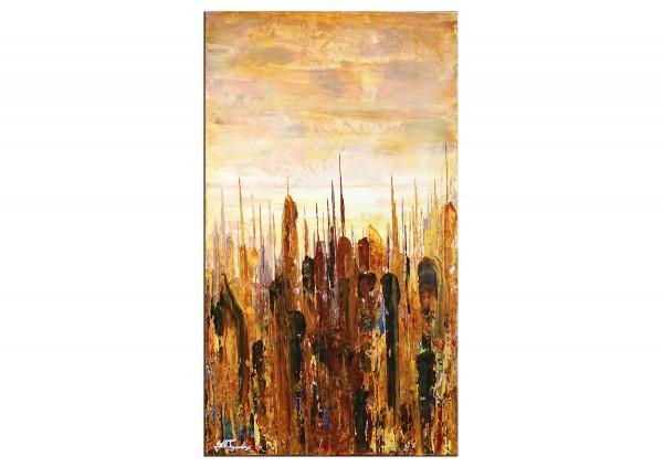 "Abstrakte Acrylbilder, J. Fernandez: ""Makatran II"""