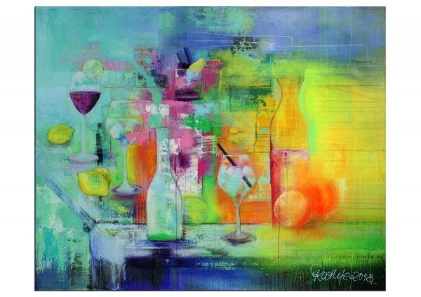 """Moderne Malerei, M. Rathje: """"Sommerfrischer Cocktailmix"""" (A)"""
