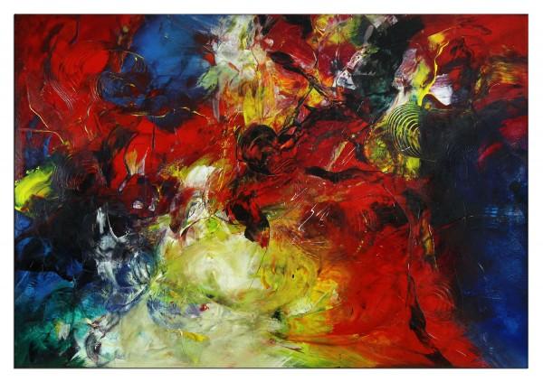 "Abstrakte Acrylmalerei, C. Middendorf: ""Kraftmagnet IV"" (A)"