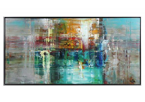 "Acrylgemälde, G. Hung: ""Analytic IV"" (ri)"