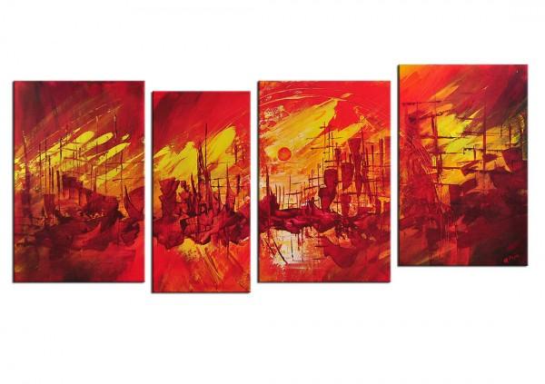 "Mehrteiliges Gemälde, A. Rojo : ""COSTERA"""