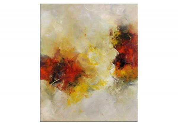 "Abstrakte Acrylmalerei, C. Middendorf: ""Blumenwiese IV"", Originalgemälde (Unikat)"