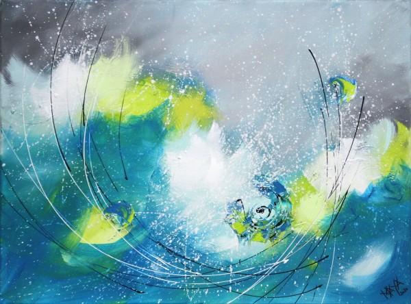 """Maya: """"Aqualounge III"""", Originale Acrylbilder (Unikat)"""
