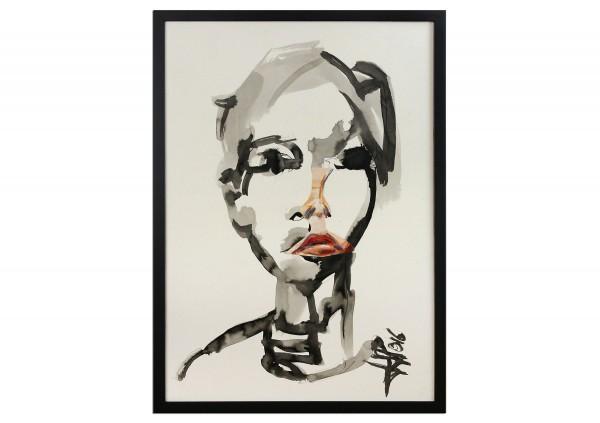 "Neoexpressionismus, Porträt, J.J. Piezanowski: ""Chanson douce"""
