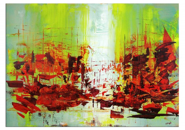 "Moderne Malerei, C. David Schwartz: ""Porto alegre"""