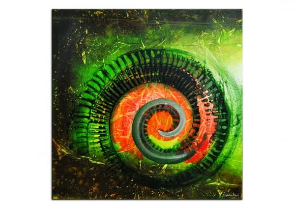 """Acrylgemälde, C. David Schwartz: """"TAJIN"""""""