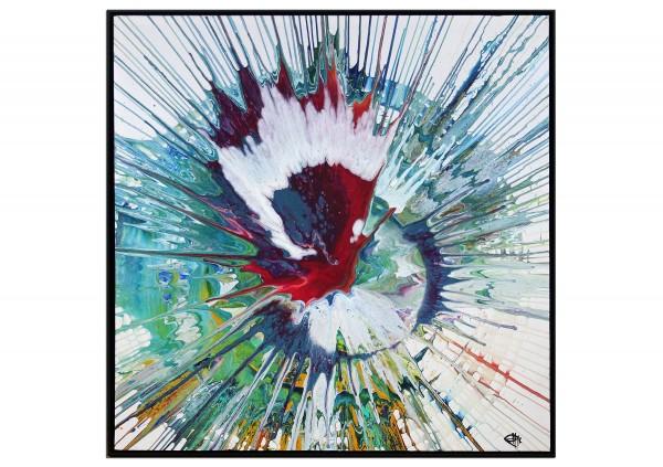 "Acrylgemälde, G. Hung: ""Rotes Chakra"""