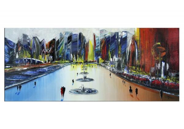 "Urbanes Gemälde, K. Namazi: ""Urbane Erholung I"" (A)"