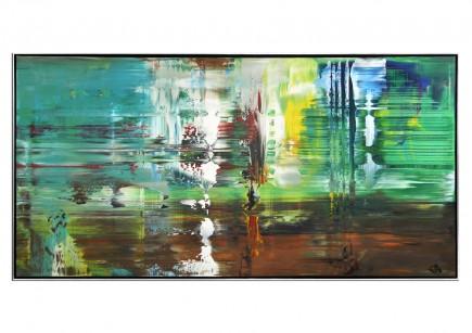 """Acrylgemälde, G. Hung: """"Analytic II"""" (ri)"""