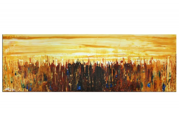 "Acrylbilder, J. Fernandez: ""Ciudad del Desierto"" (ri)"