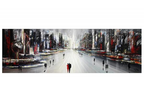 """Modernes Gemälde, K. Namazi: """"Endless City"""" (A)"""