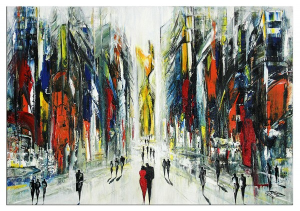 "Abstrakte Kunstbilder, K. Namazi: ""Urbaner Götze I"" (A) (ri)"