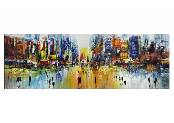 "Modernes Gemälde, K. Namazi: ""Urbanes Prisma III"" (A)"