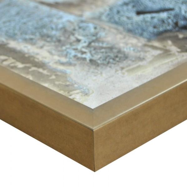 Premium Bilderrahmen Holz bronze HR-201064-b, inkl. Blendrahmbleche