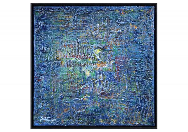 """Modernes Kunstbild, Julio Fernandez: """"Hintergrundleuchten I"""""""