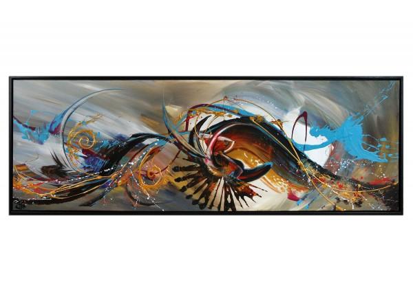 "Acrylgemälde, G. Hung: ""Universal Colours"""