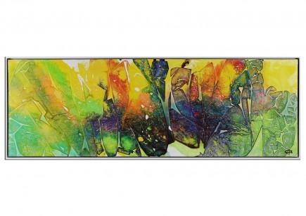 """Acrylgemälde, G. Hung: """"Zellteilung I"""" (ri)"""