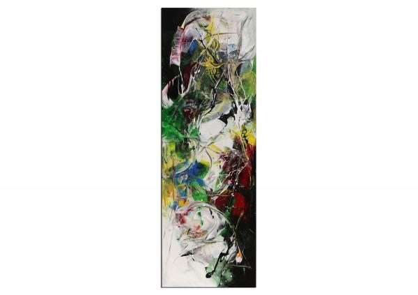 """Abstrakte Acrylmalerei, C. Middendorf: """"Kräftemessen X"""""""