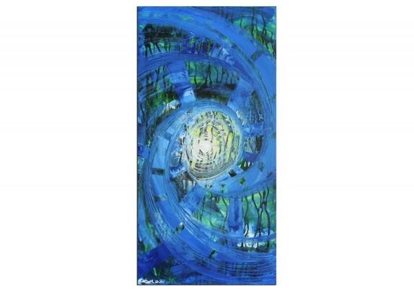 """Abstraktes Originalgemälde (Unikat), R.König: """"Underwater Life III"""""""