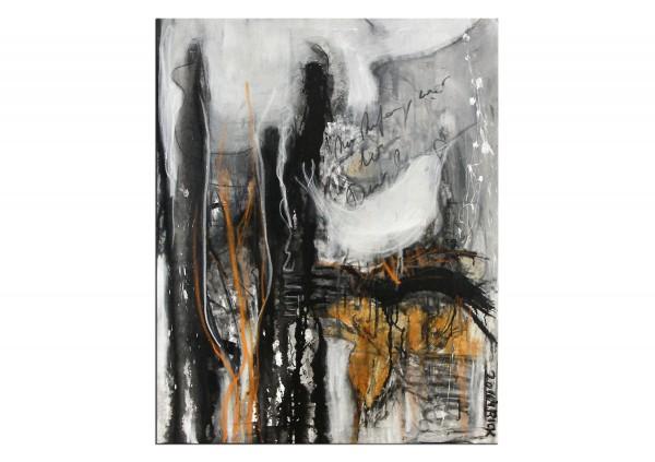 Acrylbilder Abstrakt M Rick Das Lied Der Weissen Nachtigall