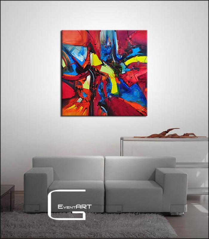 lgem lde abstrakt b ossowski colour vibration e b ossowski k nstler shop. Black Bedroom Furniture Sets. Home Design Ideas