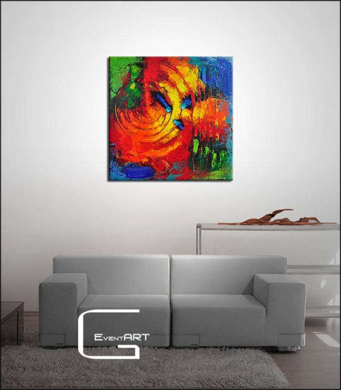 moderne malerei k boekhoff horizontaler prophet klaus boekhoff k nstler shop. Black Bedroom Furniture Sets. Home Design Ideas