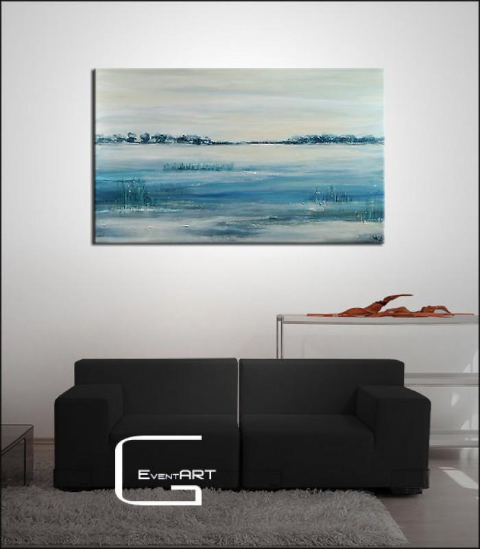 acrylgem lde m k hne im morgenlicht m k hne k nstler shop acrylbilder abstrakt. Black Bedroom Furniture Sets. Home Design Ideas