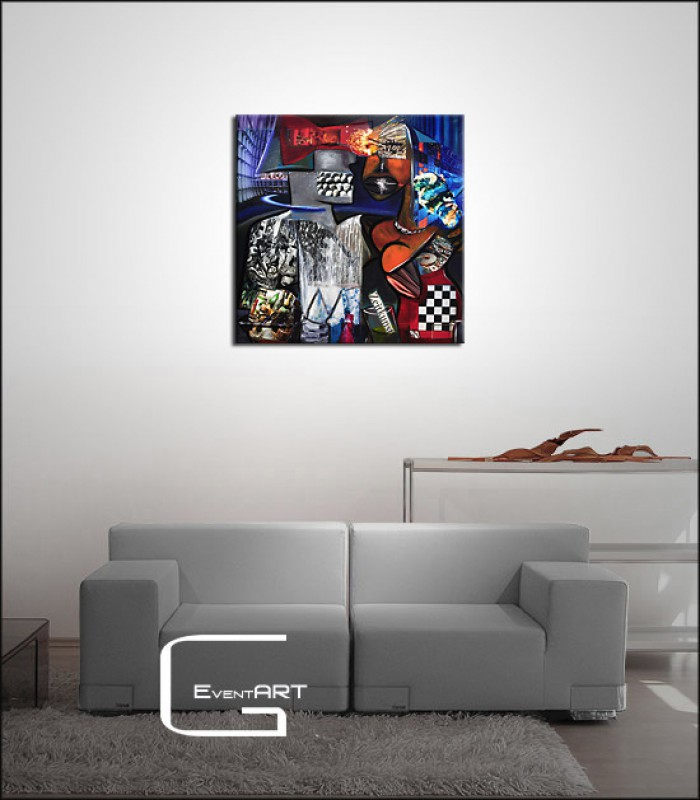 moderne malerei k namazi zeitkunst e koroush namazi k nstler shop acrylbilder. Black Bedroom Furniture Sets. Home Design Ideas