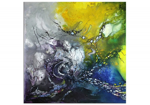 """Kunst, Gemälde: """"Magic Sea"""""""