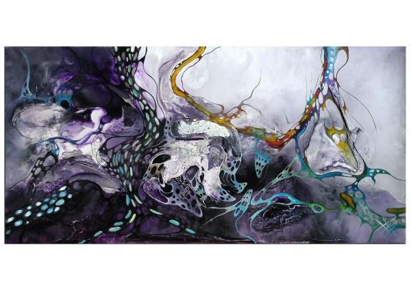 """Kunst, Gemälde: """"Night Rainbow"""""""