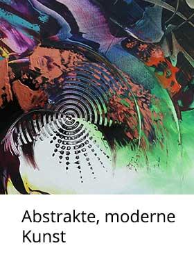 Abstrakte Kunst: Acrylmalerei